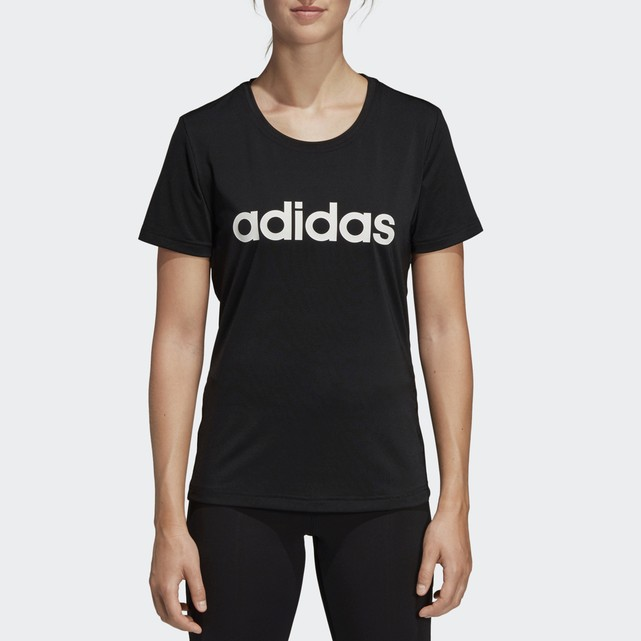 Camiseta con estampado de logotipo DS8724 adidas Performance