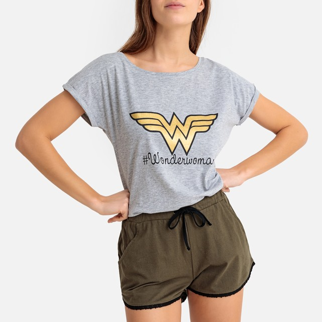 Pijama con short Wonderwoman WONDER WOMAN